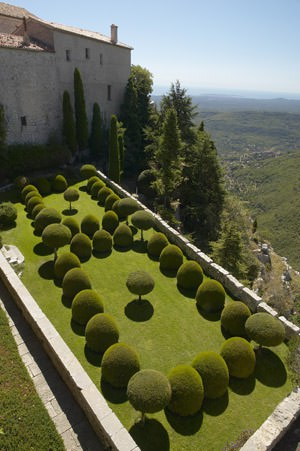 The Beautiful Garden of the Gourdon's Castle Landscapes Landscapes