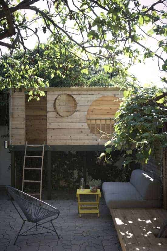 Tree House for a Urban Garden 1 - Summer & Tree Houses - 1001 Gardens