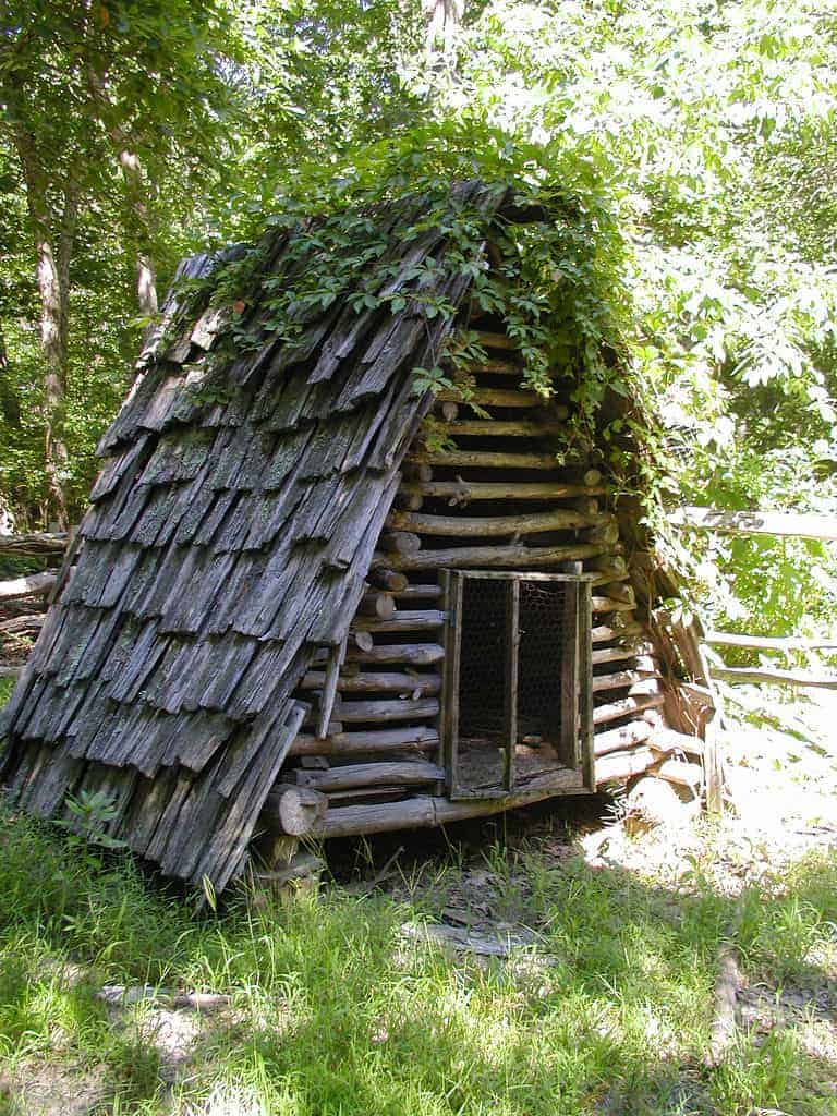 Rustic Chicken Coop - sheds-huts-treehouses