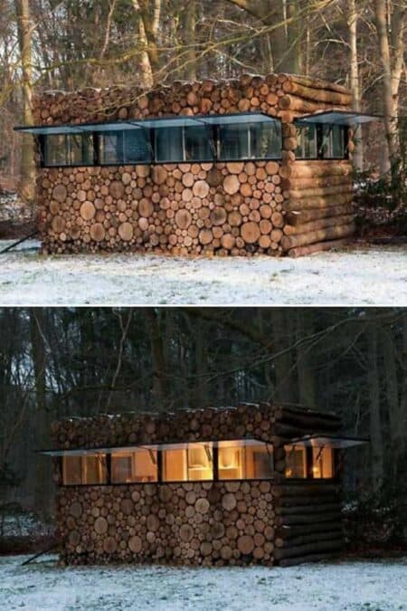 Log House in the Wood