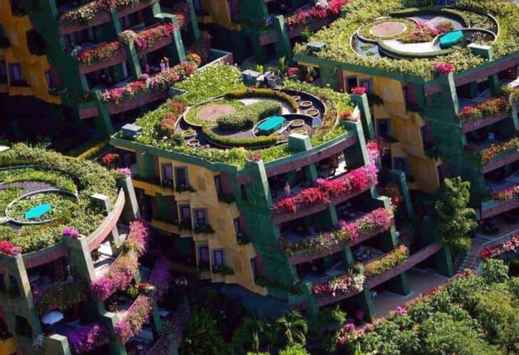 Botanical Apartments Landscape in Phuket - landscaping