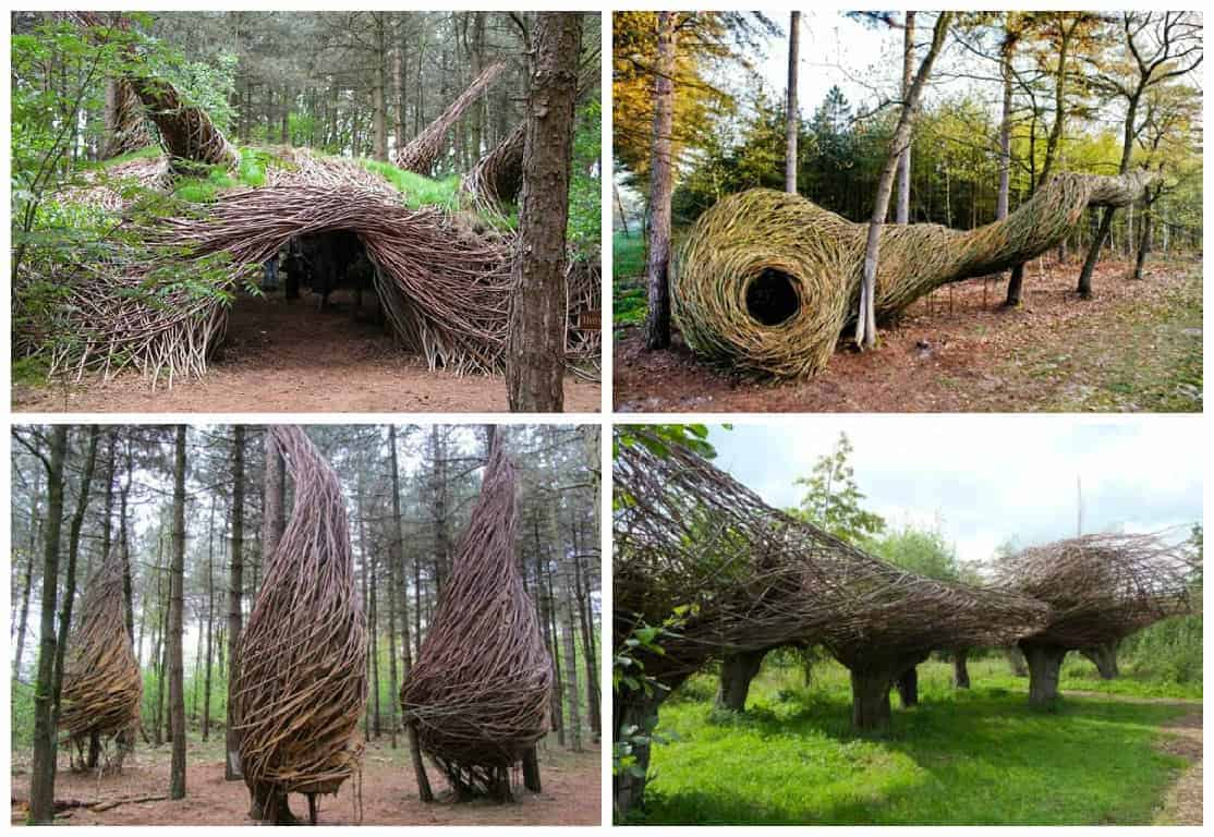 Whimsical Forest Sculptures 1001 Gardens