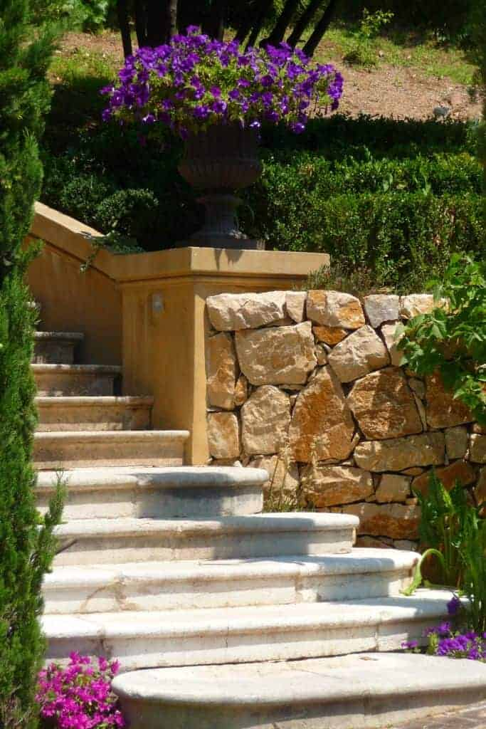 Cannes Garden Design Landscape 5 - Landscape & Backyard Ideas