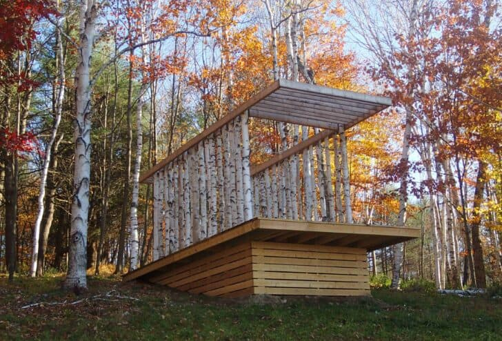 The Birch Pavilion - sheds-huts-treehouses