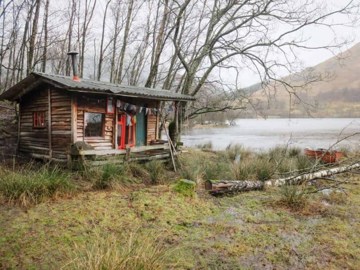 Loch Voil Hut - sheds-huts-treehouses
