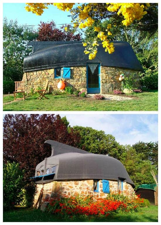 Roof Made From An Upcycled Boat - sheds-huts-treehouses