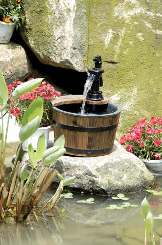 27 Wonderful Small Outdoor Fountains