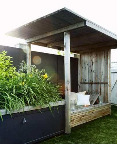 Outdoor Nook Amazing Wooden Day Bed - sheds-huts-treehouses, garden-decor