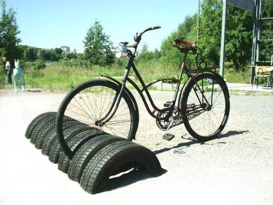 car-tire-bike-rack