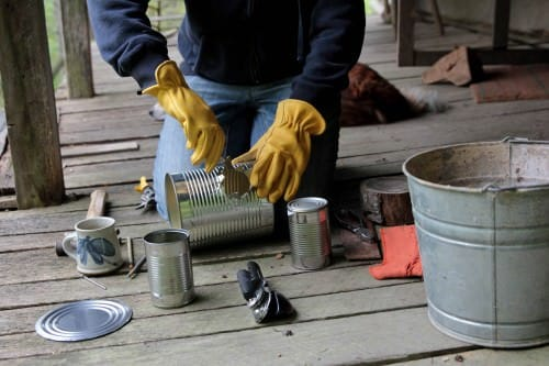 Diy: Tin-can Portable Rocket Stove Grills, Bbq & Fire Pits