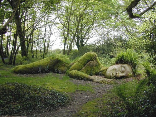 The Sleeping Goddess Garden Decor