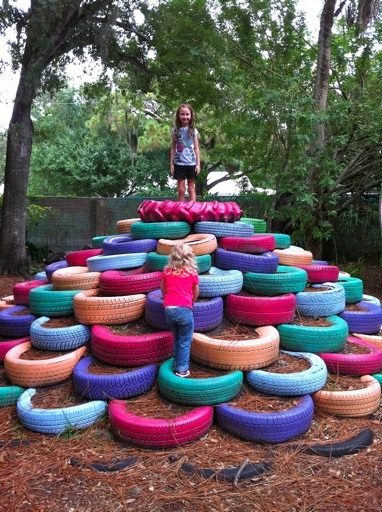 10 diy recycled tires decoration ideas for your garden garden decor