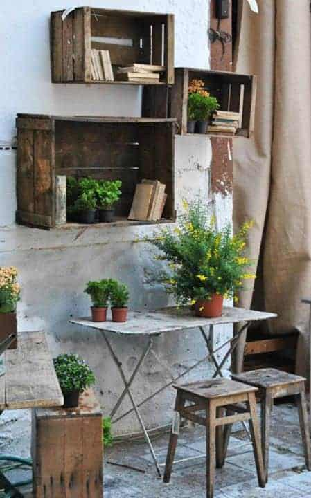 Outdoor Decorations Made From Repurposed Materials Garden Decor