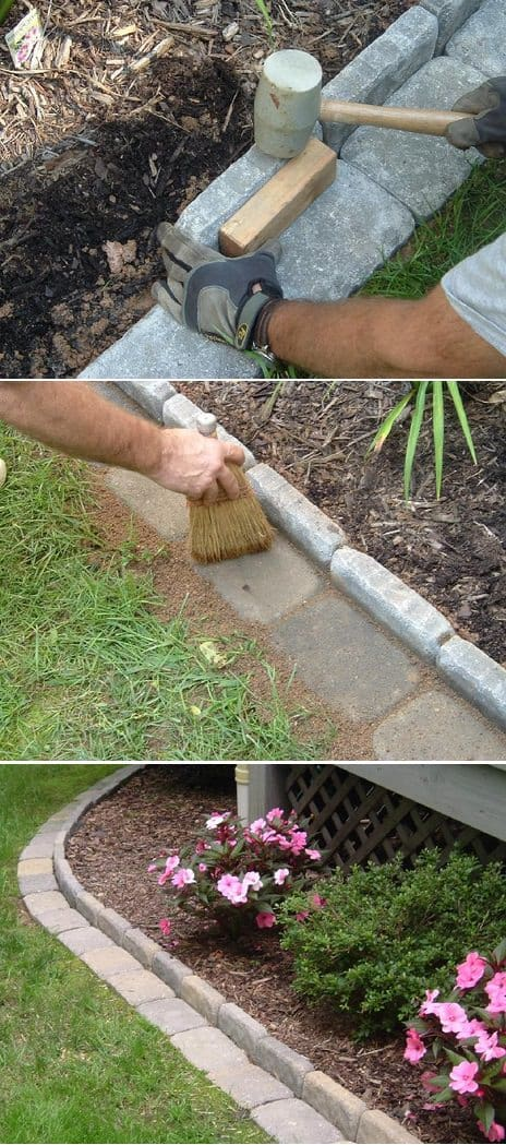 Brick Edging for Your Flower Beds Flowers, Plants & Planters