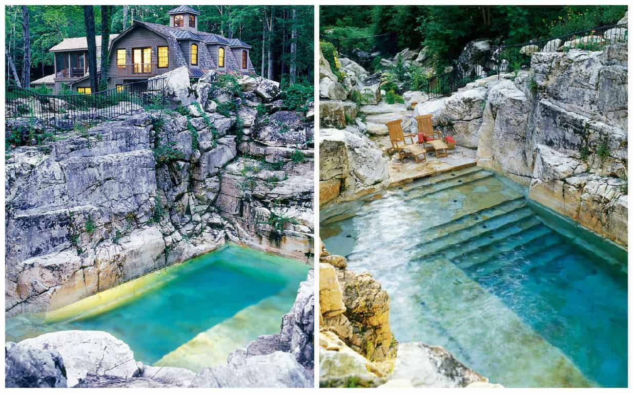Beautiful Pool In A Limestone Quarry 1001 Gardens