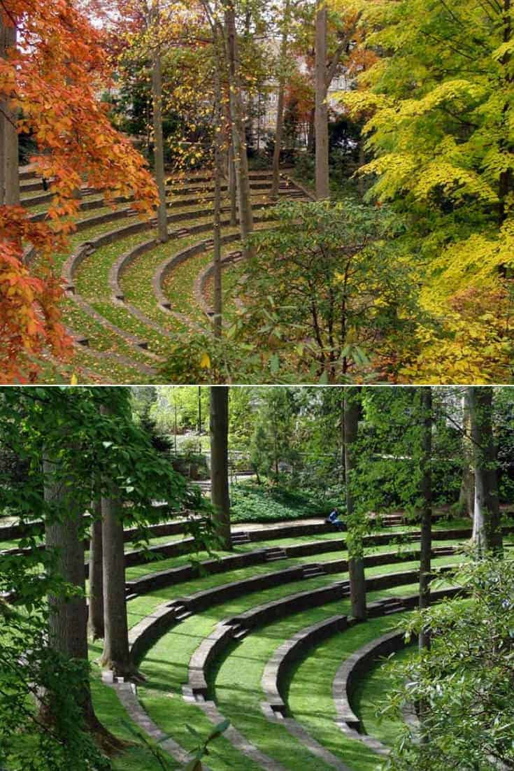 Scott Outdoor Amphitheater Landscape 1001 Gardens