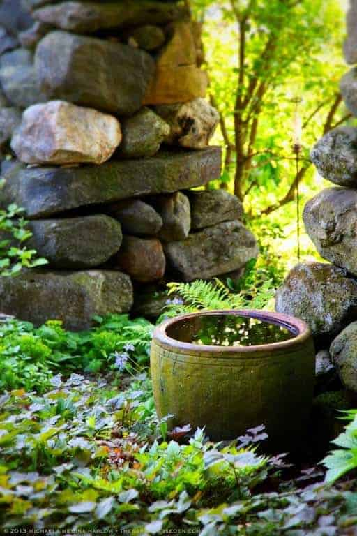 Secret Garden Water Bowl - landscaping