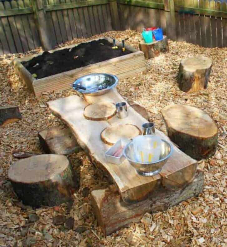 20 Mud Kitchen Ideas for Kids 3 - Kids Playhouses & Playgrounds - 1001 Gardens