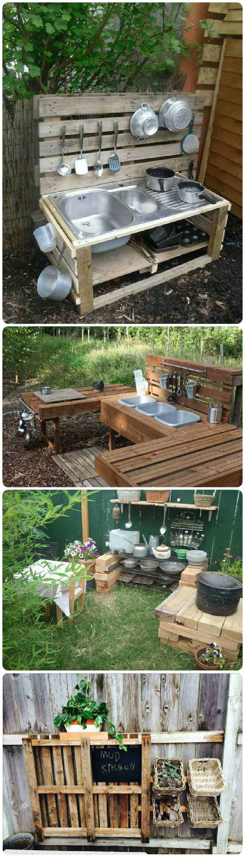 20 Mud Kitchen Ideas For Kids Garden Ideas 1001 Gardens