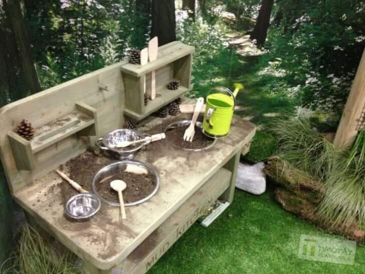Top 20 of Mud Kitchen Ideas for Kids | Garden Ideas | 1001 Gardens