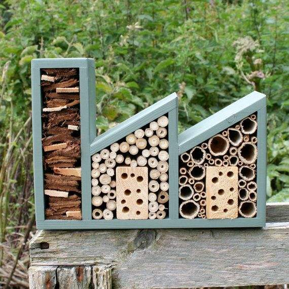 11 Inspirations for Insect Hotels - feeders-birdhouses