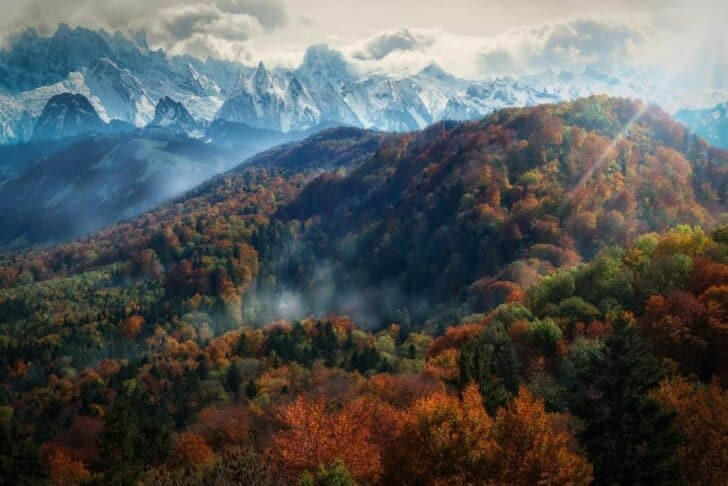 Beautiful Colors of Autumn Landscapes Landscapes