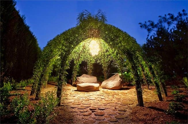 Living Willow Garden Decor Structure 1001 Gardens
