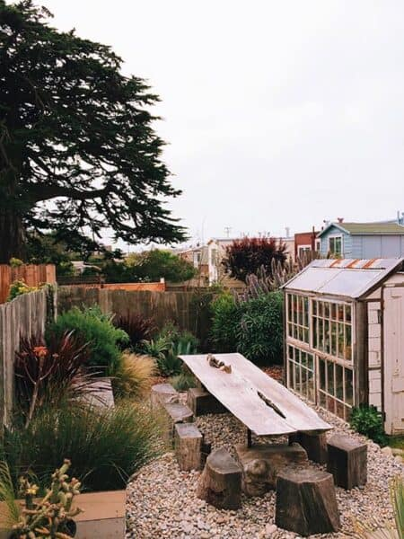 The Garden Landscape of the General Store (Sf) 71 - Landscape & Backyard Ideas