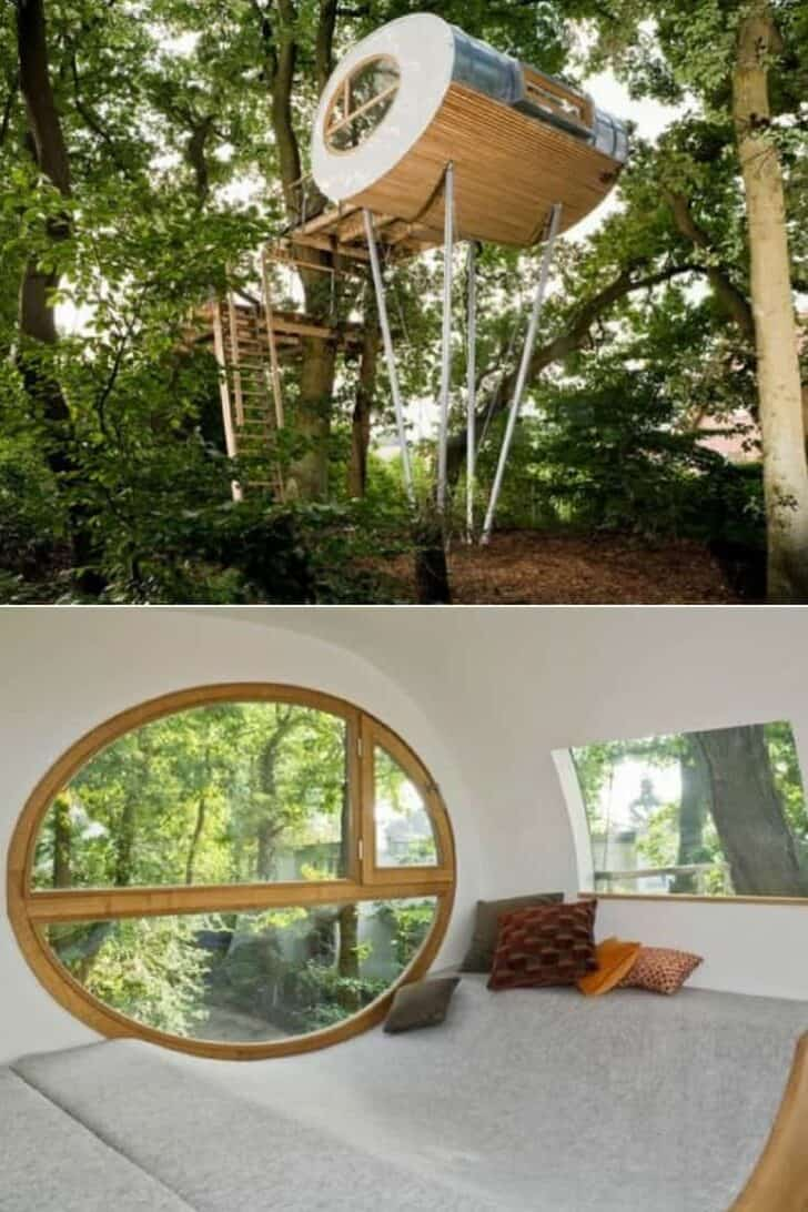 Design and Comfortable Beautiful Tree House