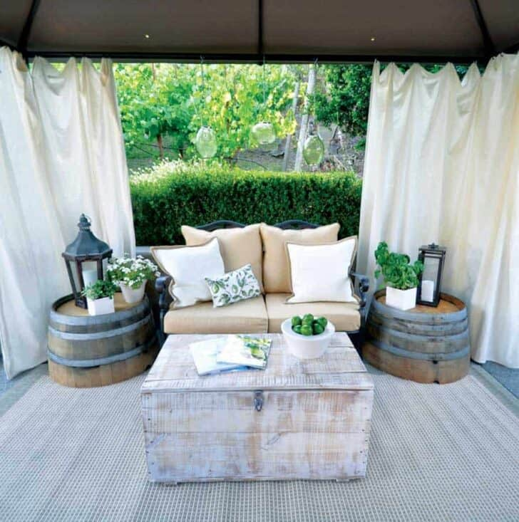Patio Garden Makeover on a Dime - patio-outdoor-furniture