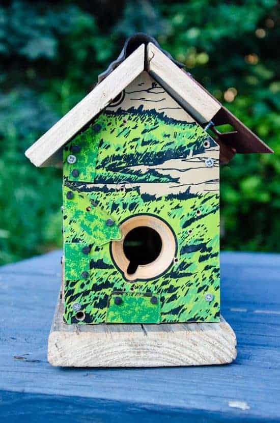 Repurposed Pinball Birdhouses 3 - Bird Feeders & Houses