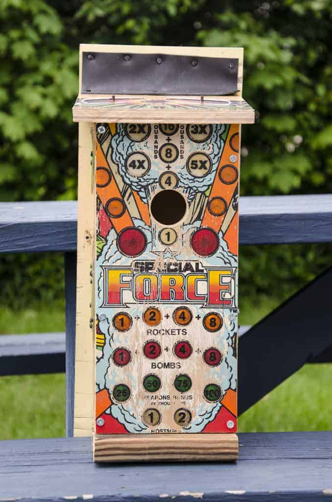 Repurposed Pinball Birdhouses 11 - Bird Feeders & Houses