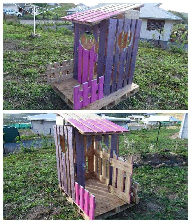 pallet building ideas. 25 ideas to recycle pallets in kids pallet playhouses, huts or cabins building