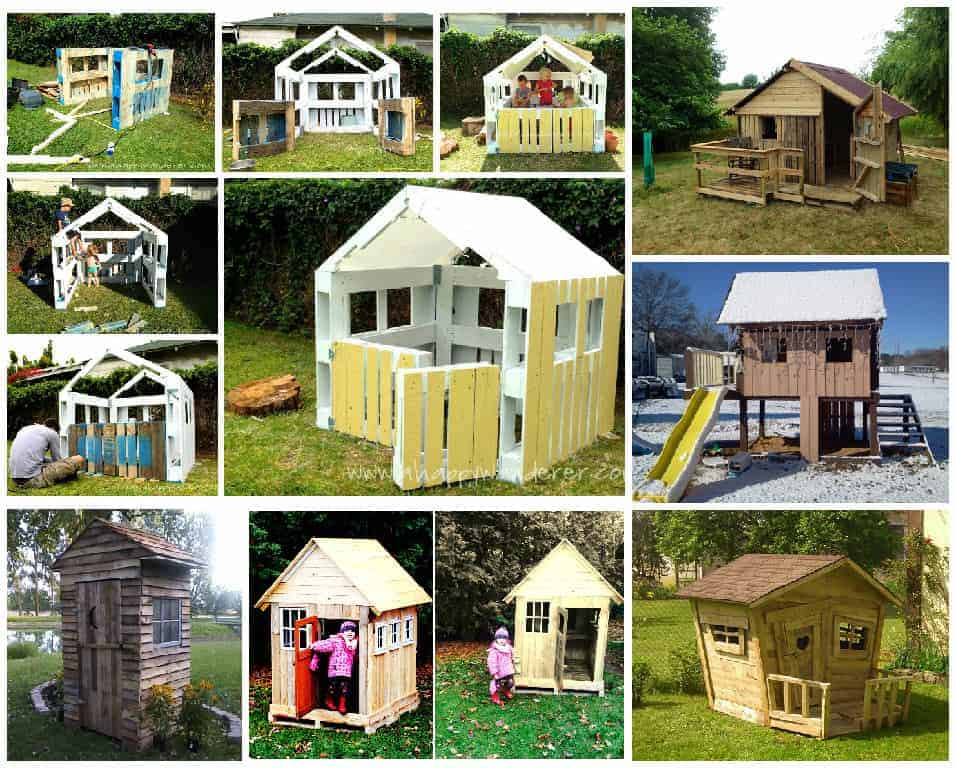 25 ways of reusing wooden pallets in your garden as hut - Reusing pallets in the garden ...