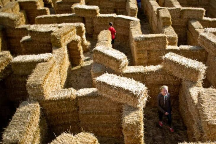 18 Ways To Use Straw Bales For A Shabby Chic Wedding