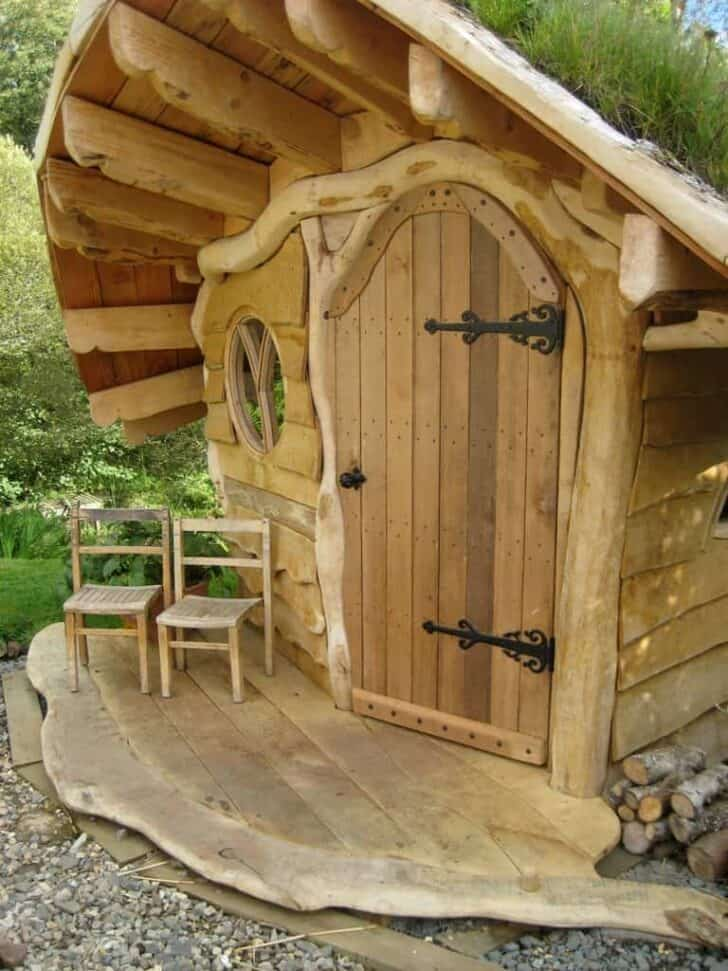 The Amazing Wee Dinky House Playhouse - sheds-huts-treehouses