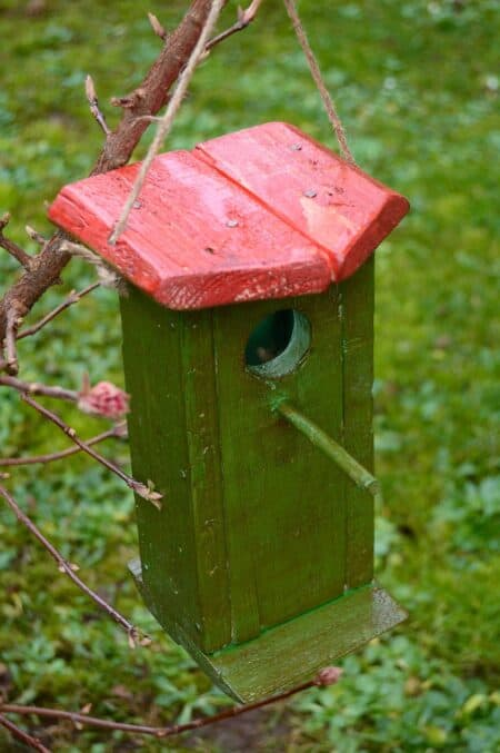 Birdhouse Made From Recycled Wooden Pallet 8 - Bird Feeders & Houses