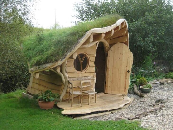 The Amazing Wee Dinky House Playhouse Sheds, Huts & Tree Houses