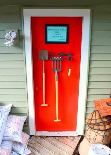Emergency Tools For Zombie Apocalypse or Gardening