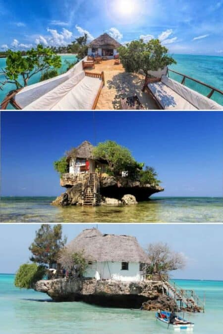 The Rock: A Restaurant Perched On a Zanzibar Rock