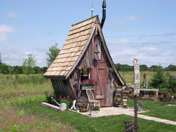 Whimsical hut