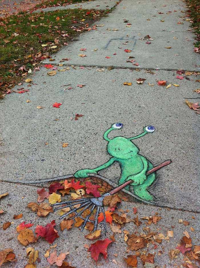 27 Pieces Of Street Art That Interact With Nature 2 - Urban Gardens & Agriculture - 1001 Gardens