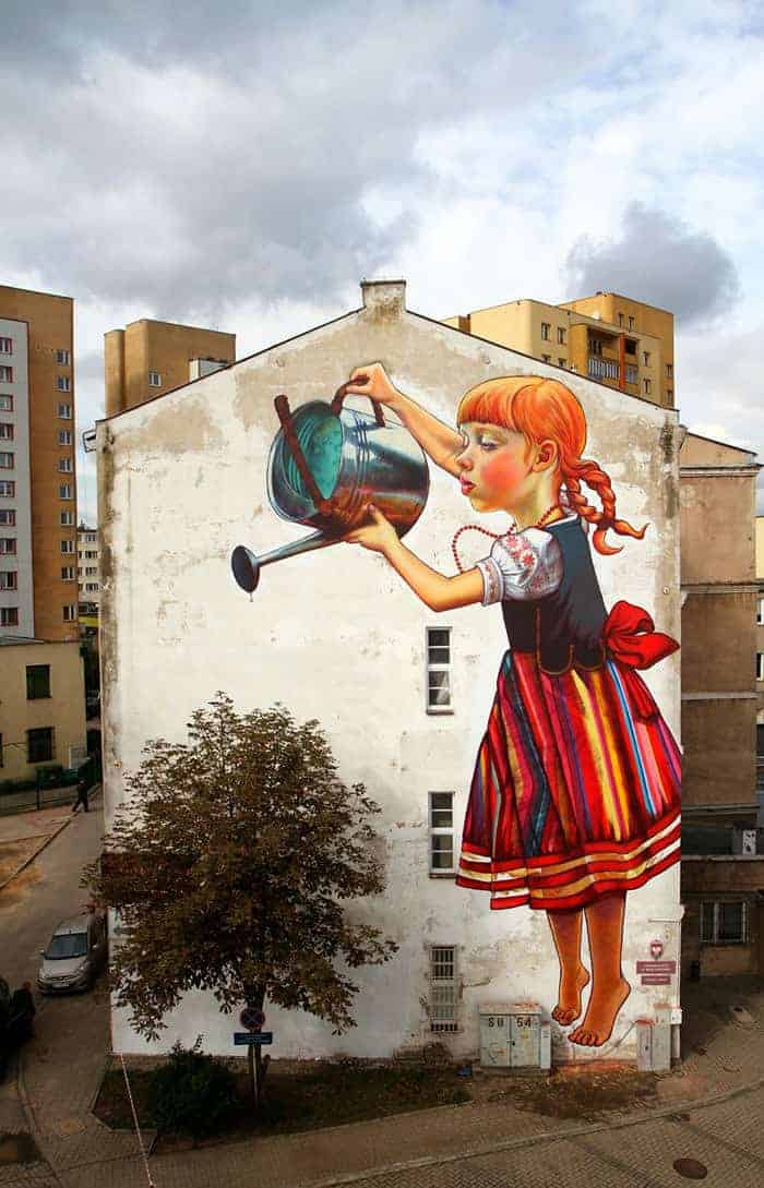 27 Pieces Of Street Art That Interact With Nature 1 - Urban Gardens & Agriculture - 1001 Gardens