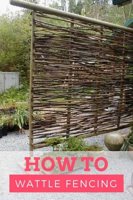 How To Make Wattle Fencing: An Inexpensive Option For Fencing