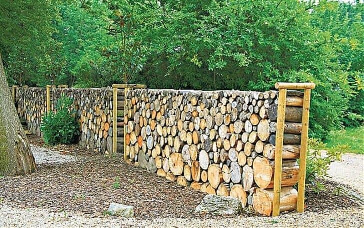 15 Tree Log Ideas for Your Garden 27 - Patio & Outdoor Furniture