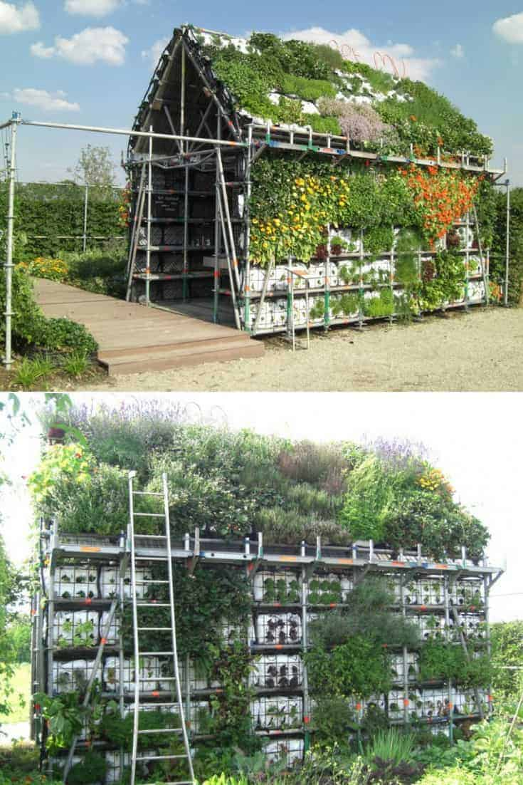 Eathouse : a Concept of Garden in the Form of a House