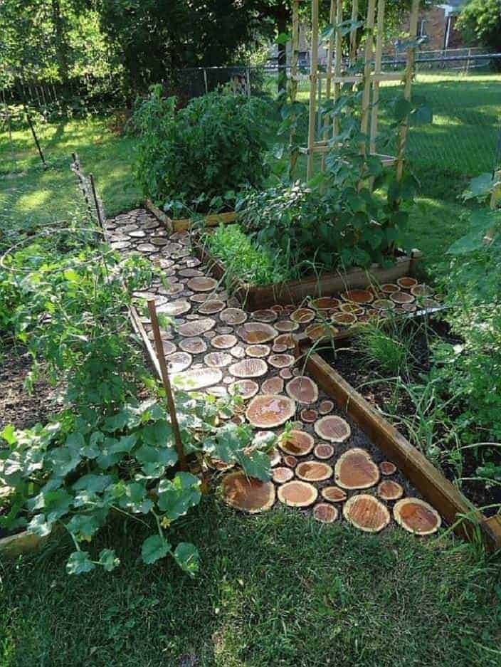 Landscaping With Wood Logs : Diy wood log ideas for your garden decor gardens