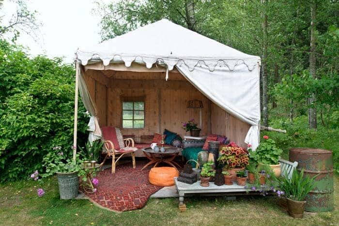 Swedish Bohemian Garden Sheds, Huts & Tree Houses