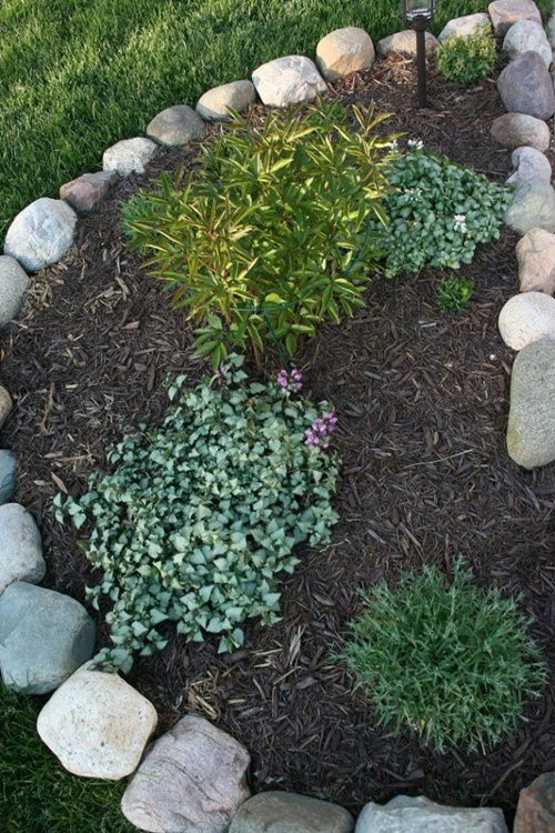 Garden Edging from Repurposed Materials • 1001 Gardens