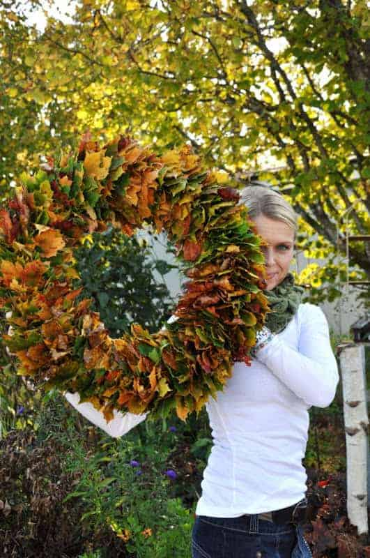 15 Wreaths You Have to Craft This Fall - garden-decor